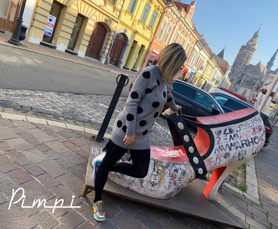 pimpi-bábo do sveta-cestovanie-cestuj s deťmi-mama blog-bonprix-jeseň-vidiek-dedina-mesto-moje mesto-košice-trendy-móda-šaty-mikina-hadí vzor-internetový obchod